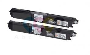 Epson C1600 / CX16 - Čierny - dvojbalenie