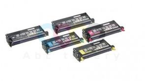 Výhodné balenie Epson C2800 - Celá farebná sada + 2x čierny toner