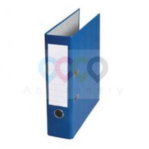 Segregator z mechanizmem A4 80 mm niebieski