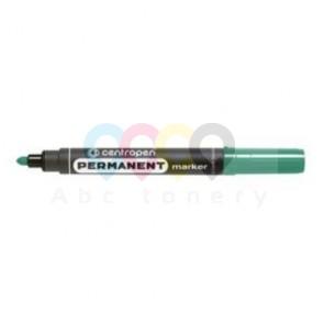 Marker permanentny Centropen 8566, okrągła końcówka, zielony