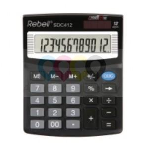 Kalkulator Rebell SDC412 12-Poziomowy Czarny