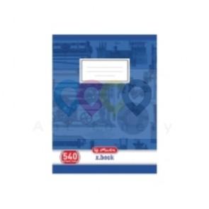 Zeszyt Herlitz 540 A5, czyste kartki