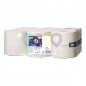 Tork papier toaletowy mini jumbo Advanced, 1-warstwowy