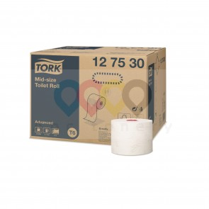 Tork Mid-size papier toaletowy, 2-warstwowy